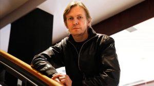 BARCELONA 28 04 2016 Entrevista al director de cine lituano SHARUNAS BARTAS que sera homenajeado en el festival D A de cine de autor Foto Alvaro Monge